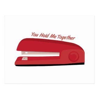Hold Me Together Postcard