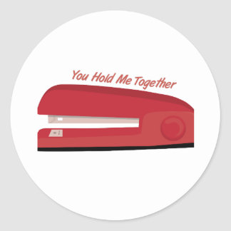 Hold Me Together Stickers