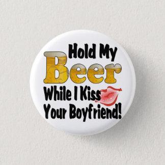 Hold My Beer Boyfriend Lips Button