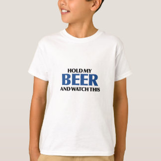 Hold My Beer (The Blue Bomber) T-Shirt