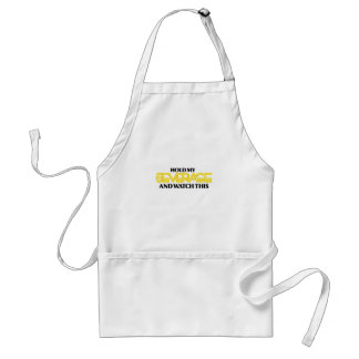 Hold My Beverage (Neon Nasty) Adult Apron