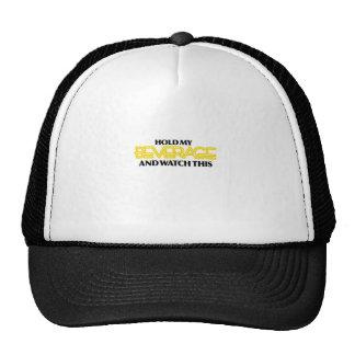 Hold My Beverage (Neon Nasty) Trucker Hat