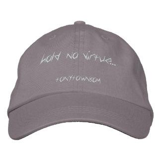 Hold No Virtue Cap (Gray)