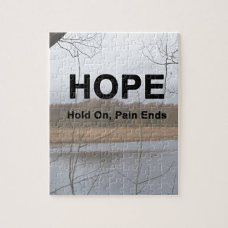 Hold On, Pain Ends Jigsaw Puzzle