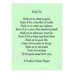 hold on prayer postcards