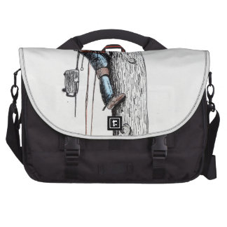 Hold on tight tree surgeon bag for laptop