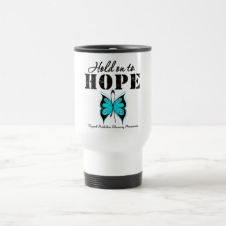 Hold On To Hope Addiction Recovery 15 Oz Stainless Steel Travel Mug