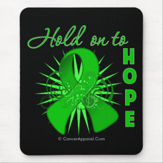 Hold On To Hope - Bile Duct Cancer Mouse Pad
