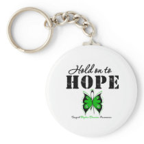 Hold On To Hope Bipolar Disorder Basic Round Button Keychain