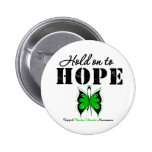 Hold On To Hope Bipolar Disorder Pinback Buttons