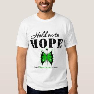 Hold On To Hope Bipolar Disorder Tee Shirt