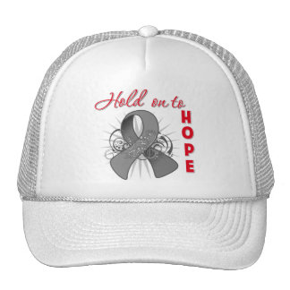 Hold On To Hope - Brain Cancer Hat