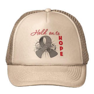Hold On To Hope - Brain Cancer Hats