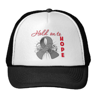 Hold On To Hope - Brain Cancer Trucker Hat