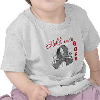 Hold On To Hope - Brain Cancer Tshirt
