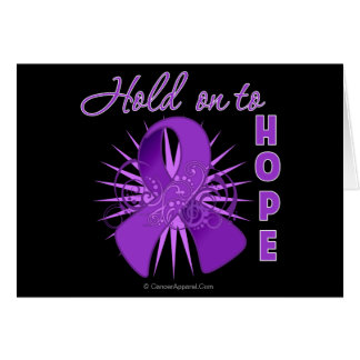 Hold on To Hope - Crohns Disease Greeting Card