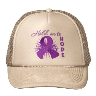 Hold on To Hope - Crohns Disease Trucker Hats
