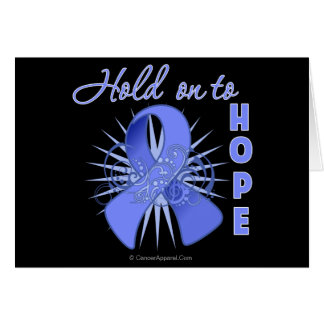 Hold On To Hope - Esophageal Cancer Greeting Card