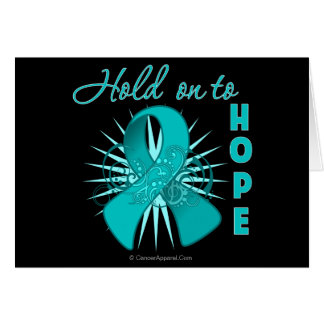 Hold on To Hope - Gynecologic Cancer Card