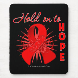 Hold on To Hope - Heart Disease Mouse Pad