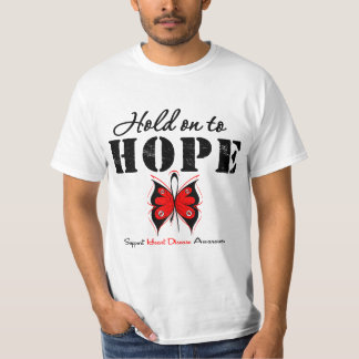 Hold On To Hope Heart Disease Shirt