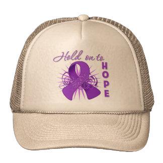Hold on To Hope - Leiomyosarcoma Trucker Hats