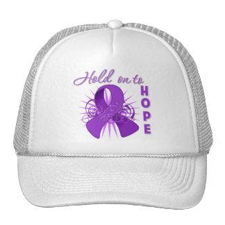 Hold on To Hope - Leiomyosarcoma Mesh Hat