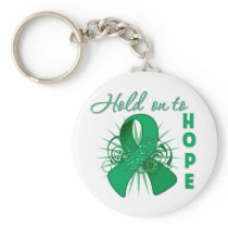 Hold On To Hope - Liver Cancer Keychain