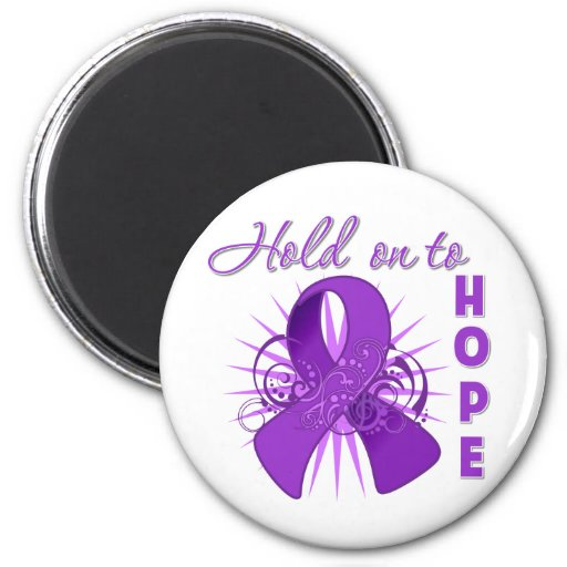 Hold on To Hope - Lupus Refrigerator Magnets