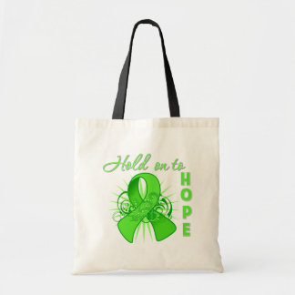 Hold on To Hope - Non-Hodgkins Lymphoma Budget Tote Bag