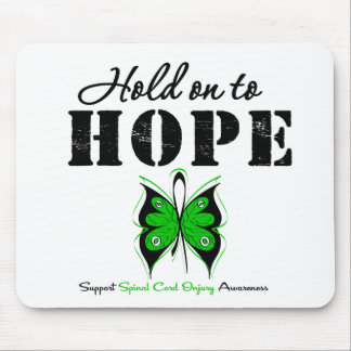 Hold On To Hope Spinal Cord Injury Mousepads
