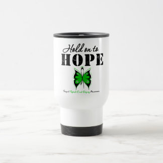 Hold On To Hope Spinal Cord Injury Mug