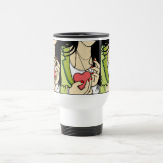 Hold On To Your Heart Travel Mug