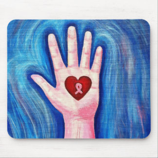 Hold onto Hope and Love Mouse Pad