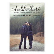 Hold the Date photo save the date card
