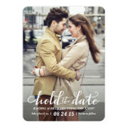 """Hold the Date photo save the date card 5"""" X 7"""" Invitation Card"""