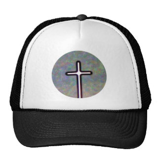 Hold the Light Inside Cross Circle Trucker Hat