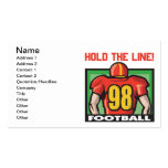Hold The Line Double-Sided Standard Business Cards (Pack Of 100)