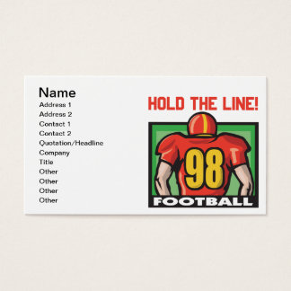 Hold The Line Business Card