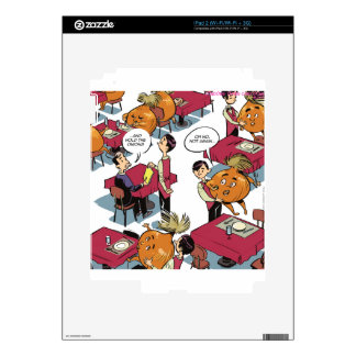 Hold The Onions Please Funny Foodies Skins For iPad 2