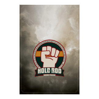 """""""Hold to the Rod"""" brand poster. (LDS) Poster"""