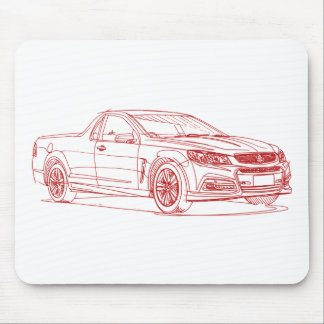 Hold VF Comm Ute SV6 2014 Mouse Pad