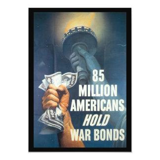 Hold War Bonds World War II Card