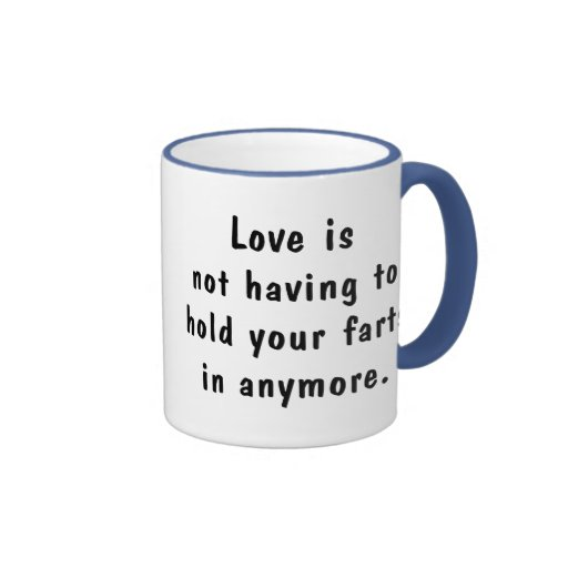Hold Your Farts Ringer Coffee Mug