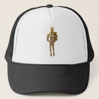 HoldChildTeddyBear123109 Trucker Hat