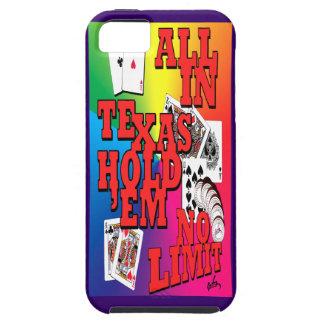 holdem de Tejas iPhone 5 Protectores