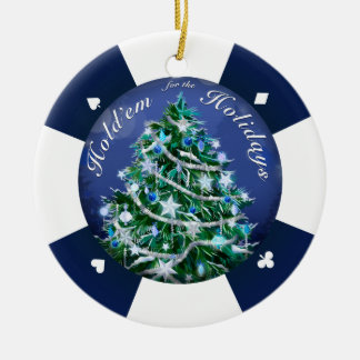 Hold'Em for the Holidays Ornaments