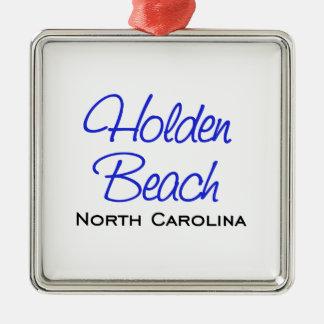 Holden Beach, NC Metal Ornament