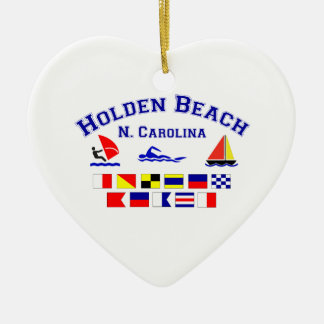 Holden Beach Nc Signal Flags Ornaments