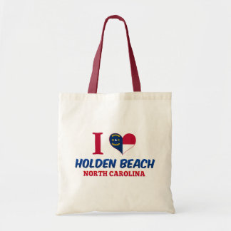 Holden Beach North Carolina Canvas Bags